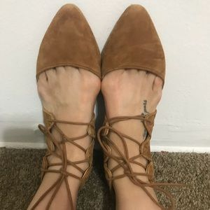 Jessica Simpson Lace Up Flats